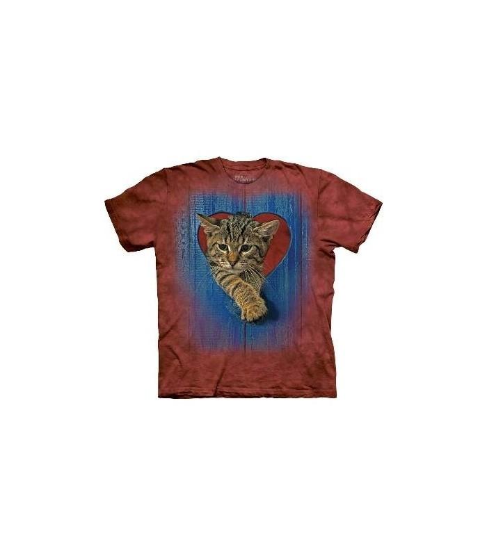 T-Shirt Chaton Coeur par The Mountain