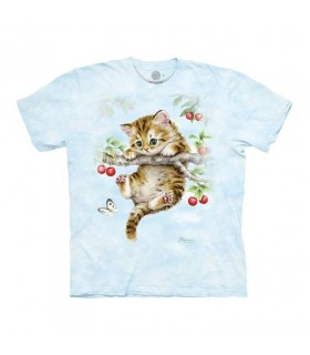 Tee-shirt Chaton et Cerise The Mountain