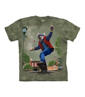 The Mountain Cat To The Future T-Shirt