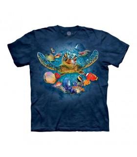 Tee-shirt Tortue de mer The Mountain