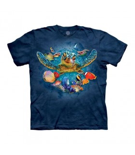 The Mountain Swimming Turtle T-Shirt