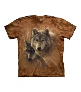 Tee-shirt Terre des Loups The Mountain