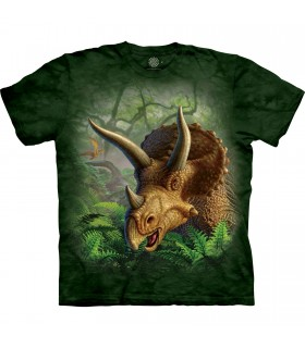 Tee-shirt Triceratops sauvage The Mountain