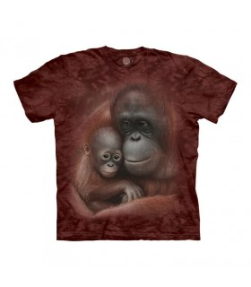 The Mountain Snuggled Orangutan T-Shirt