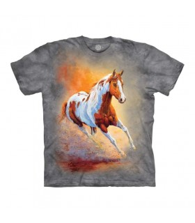 Tee-shirt Galop au soleil The Mountain