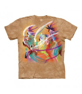 Tee-shirt Danse Arc en Ciel The Mountain
