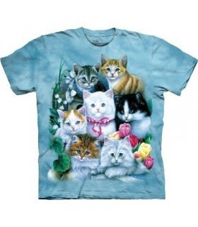 T-Shirt Chatons par The Mountain