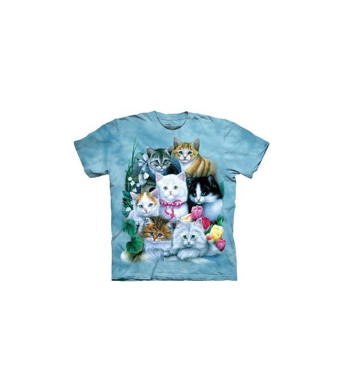 T-Shirt Chatons par The Mountain