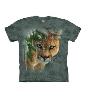 Tee-shirt Puma en Hiver The Mountain