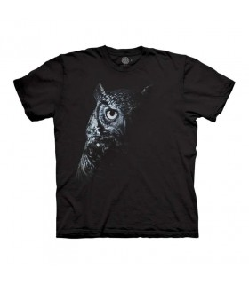The Mountain Shadow Owl T-Shirt