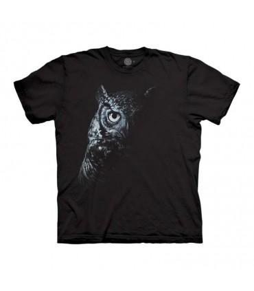 The Mountain Shadow Owl T-Shirt