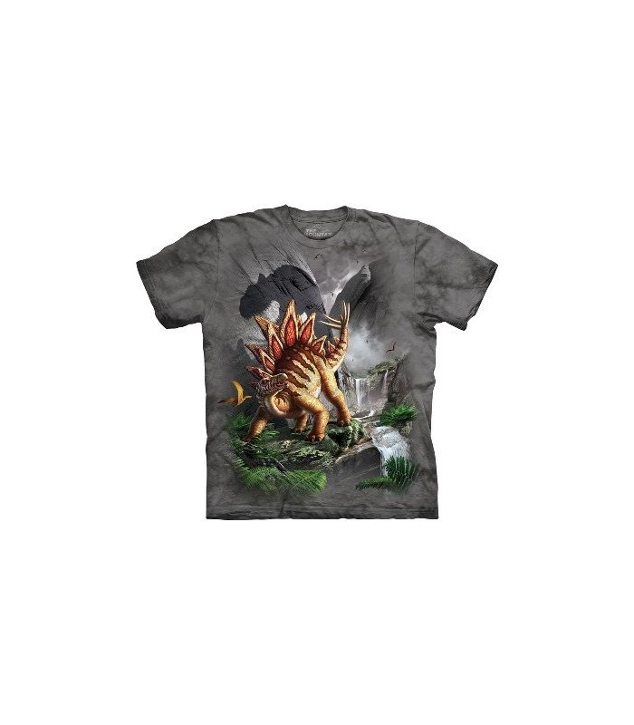 Against The Wall - Dinosaur T Shirt by the Mountain