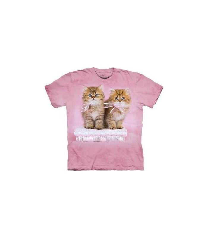 T-Shirt beaux chatons par The Mountain