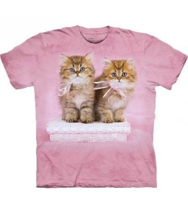 T-Shirt beaux chatons par The Mountain