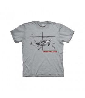 Tee-shirt Tortue et pollution de l'eau The Mountain
