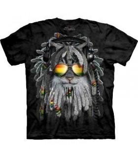 T-Shirt Chaton RastaFurian par The Mountain