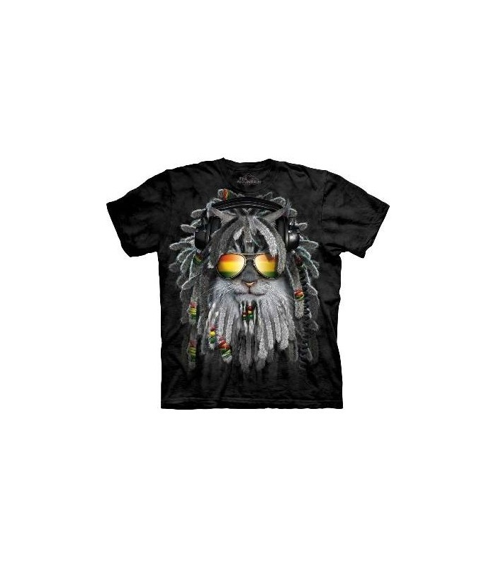 T-Shirt Chaton RastaFurian par The Mountain