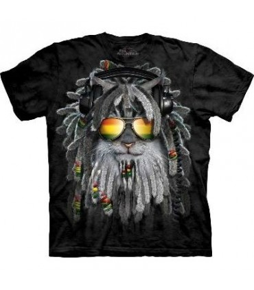 RastaFurian Kitten - Cats T Shirt by The Mountain