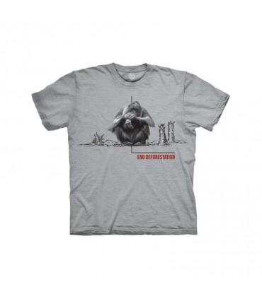 The Mountain Deforestation Orangutan T-Shirt