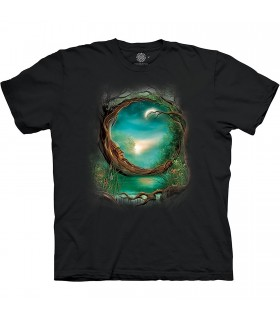 The Mountain Base Moon Tree T-Shirt
