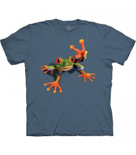 Tee-shirt Grenouille Victorieuse The Mountain Base