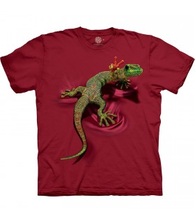The Mountain Base Peace Out Gecko T-Shirt