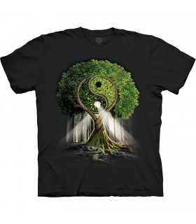 The Mountain Base Yin Yang Tree T-Shirt