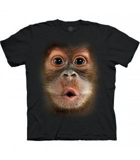The Mountain Base Big Face Baby Orangutan T-Shirt