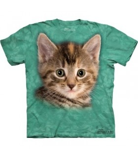 Striped Kitten - Cats T Shirt by the Mountain