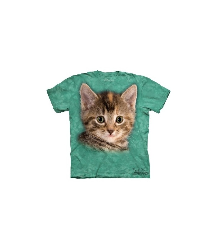 T-Shirt Chaton Tigré par The Mountain