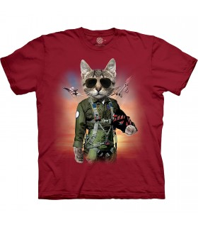 Tee-shirt Tom Cat The Mountain Base