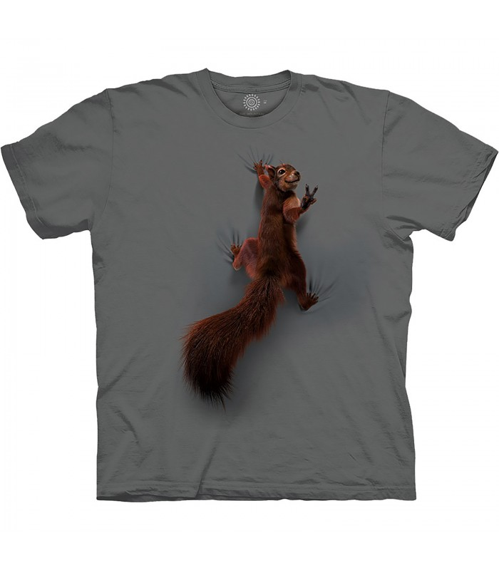The Mountain Base Peace Squirrel T-Shirt