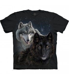Tee-shirt Loups étoilés The Mountain Base