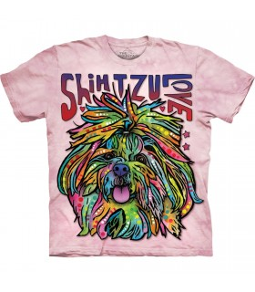 Tee-shirt Shih Tzu coloré The Mountain