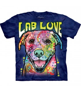 Tee-shirt Labrador coloré The Mountain