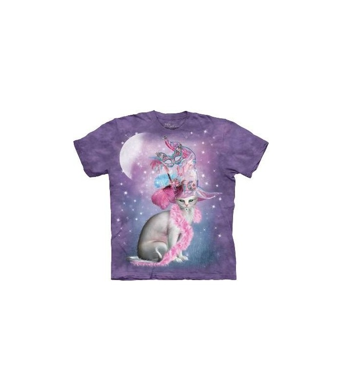 Witchy Cat Hatter - Pets T Shirt by the Mountain