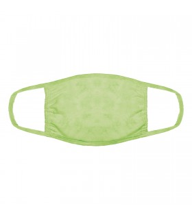 3-ply cotton face mask Lime design The Mountain