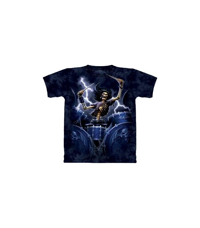 T-Shirt batterie de la mort par The Mountain