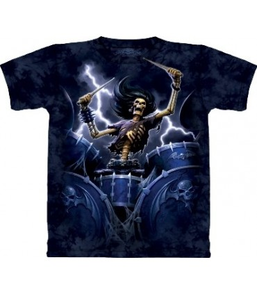 Death Drummer - Fantasy Shirt Skulbone