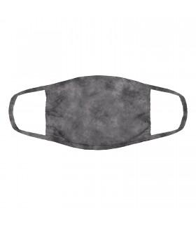 3-ply cotton face mask Grey design The Mountain