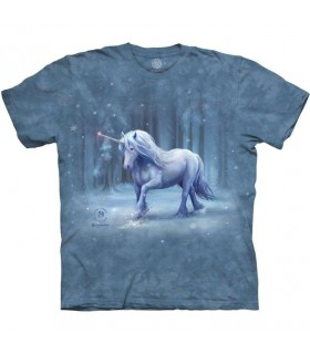 Tee-shirt Licorne en Hiver The Mountain