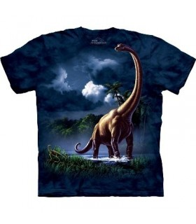 T-Shirt Brachiosaure par The Mountain