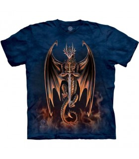 Tee-shirt Dragon Guerrier The Mountain