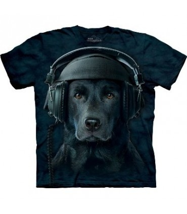 DJ Hunter - T-shirt Manimal par The Mountain