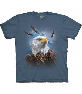The Mountain Base Guardian Eagle T-Shirt