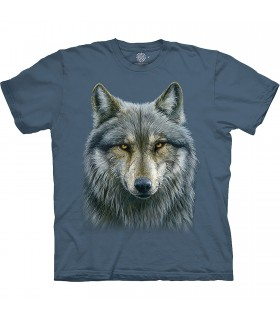 Tee-shirt Loup Guerrier The Mountain Base