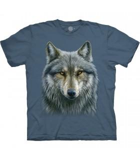 The Mountain Base Warrior Wolf T-Shirt