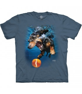 Tee-shirt Chien et sa balle The Mountain Base