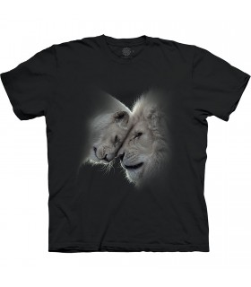 The Mountain Base White Lions Love T-Shirt