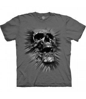The Mountain Base Breakthrough Skull T-Shirt
